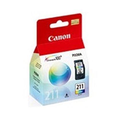 Imagen de CANON - TINTA CL-211 COLOR 9ML RENDMIENTO 255 PAGS