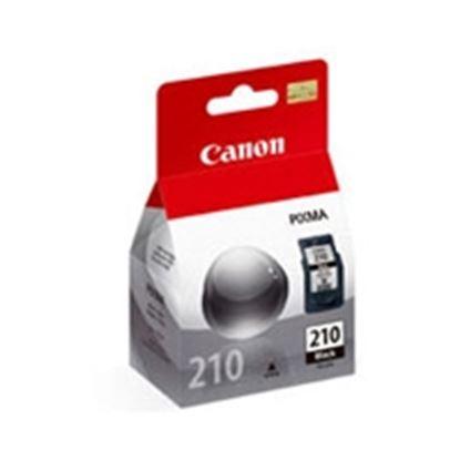 Imagen de CANON - TINTA PG-210 NEGRO 9ML RENDIMIENTO DE 250 PAGS