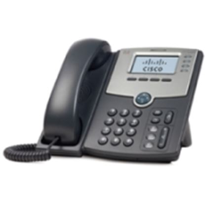 Imagen de CISCO - 1 LINE IP PHONE WITH DISPLAY POE PC PORT .
