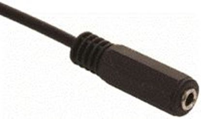 Imagen de PAQ. C/10 - STEREN - ADAPTADOR DE 2 PLUGS 3,5 MM A JACK 3,5 MM, ESTÉREO, CON CABLE DE 15 CM