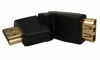 Imagen de DTC - B-ROBOTIX - ADAPTADOR COPLE HDMI MACHO-HEMBRA 360º