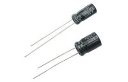Imagen de PAQ. C/10 - STEREN - CAPACITOR ELECTROLÍTICO RADIAL, DE 2200 UF (MICRO FARADIOS) A 50 VOLTS
