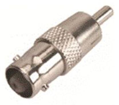 Imagen de PAQ. C/10 - STEREN - ADAPTADOR CON CONECTOR HEMBRA BNC A MACHO RCA