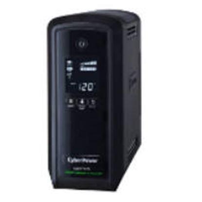 Imagen de CYBER POWER - NOBREAK UPS CYBERPOWER CP1000 1000VA/600W LCD ONDA SENOIDAL PFC