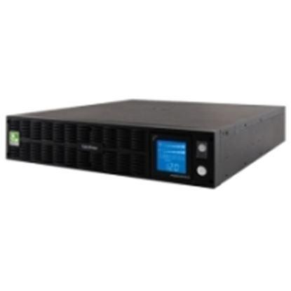Imagen de CYBER POWER - NOBREAK CYBERPOWER 1000VA LCD 750W SENOID C/REG 8CONT 120V 2U .YW