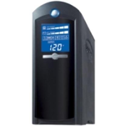 Imagen de CYBER POWER - NOBREAK UPS CYBERPOWER CP1350 1350VA/810W LCD AVR TORRE COAX US