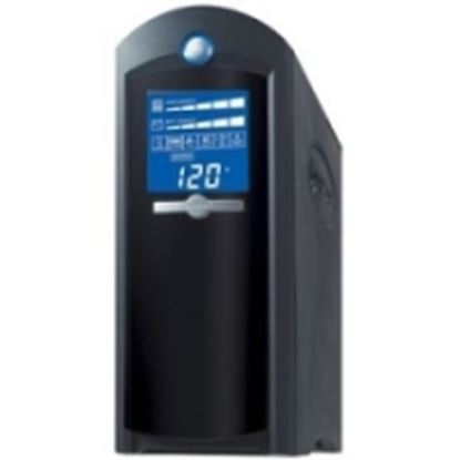 Imagen de CYBER POWER - NOBREAK UPS CYBERPOWER CP1500 1500VA/900W LCD AVR TORRE COAX US