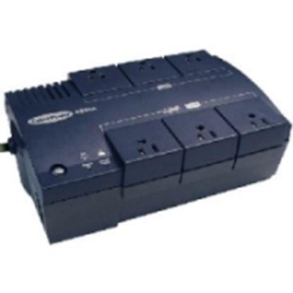 Imagen de CYBER POWER - NOBREAK UPS CYBERPOWER CP425 425VA/255W STANBY 8CONT USB/RJ11 12