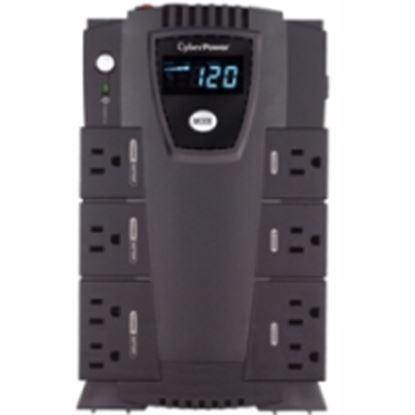 Imagen de CYBER POWER - NOBREAK UPS CYBERPOWER CP600 600VA/340W LCD COMPACTO RJ11/45 US