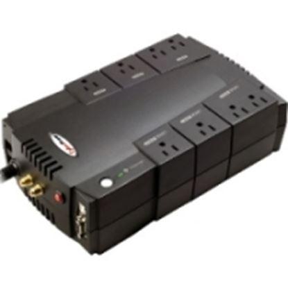 Imagen de CYBER POWER - NOBREAK UPS CYBERPOWER CP685 685VA/390W AVR 8 NEMA 5-15R USB/SE