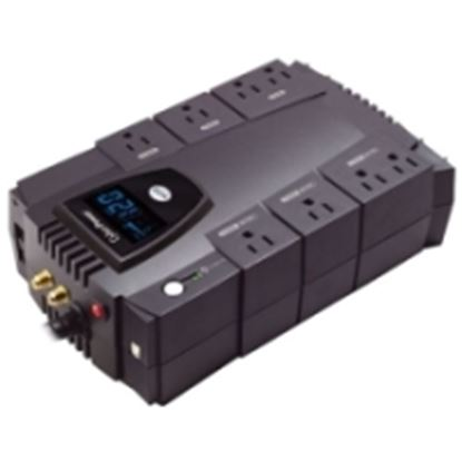 Imagen de CYBER POWER - NOBREAK UPS CYBERPOWER CP685 685VA/390W LCD AVR COMPACTO COAX