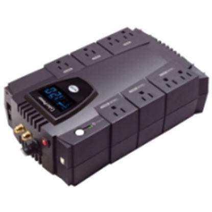 Imagen de CYBER POWER - NOBREAK UPS CYBERPOWER CP825 825VA/450W LCD AVR COMPACTO COAX