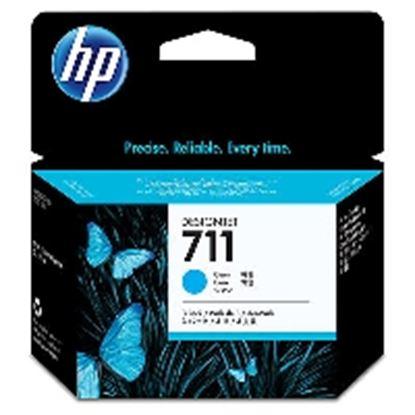 Imagen de HEWLETT PACKARD - HP 711 CYAN 3-PACK 29ML TINTA AMPLIO FORMATO CZ134A