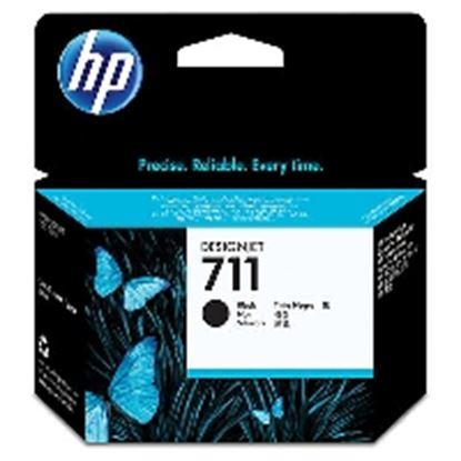 Imagen de HEWLETT PACKARD - HP 711 NEGRO 80ML TINTA AMPLIO FORMATO CZ133A