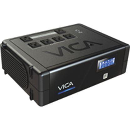 Imagen de VICA - NOBREAK CON REGULADOR 700VA 400W 6 TOMAS 1 PUERTO USB 37 MIN R.