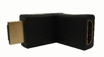 Imagen de DTC - B-ROBOTIX - ADAPTADOR COPLE HDMI MACHO-HEMBRA 180º