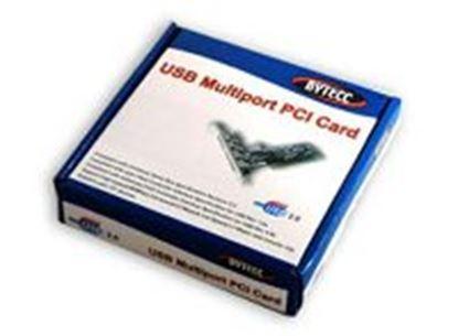 Imagen de DTC - GENÉRICO - TARJETA USB V2. 3+1 PTOS PCI