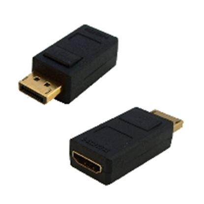 Imagen de DTC - B-ROBOTIX - ADAPTADOR DISPLAY PORT MACHO-HDMI HEMBRA