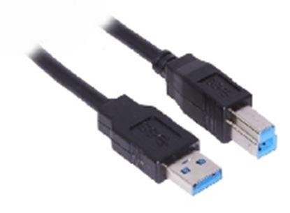 Imagen de DTC - B-ROBOTIX - CABLE USB V3.0 A-B 3.0 MTS. NEGRO
