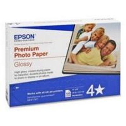 Imagen de EPSON - PAPEL PREMIUM GLOSSY PHOTO 100 HOJAS 4 X 6