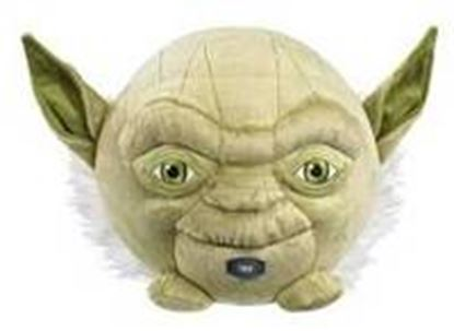 Imagen de UNDERGROUND TOYS - STAR WARS YODA TALKING BALL BUDDIES PLUSH