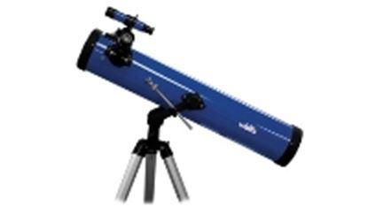 Imagen de WALLIS - REFLECTOR CON MONTURA ALTAZIMUTAL, AMP. 350X, APERTURA 76 MM, AZUL