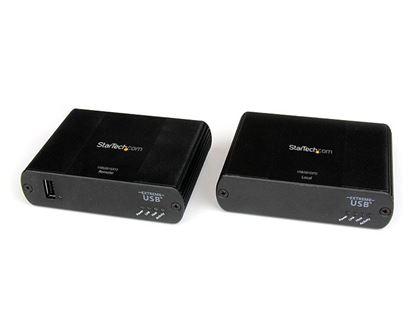 Imagen de STARTECH - EXTENSOR USB DE 1 PUERTO POR CABLE CAT5 ETHERNET UTP 100M .