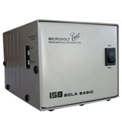 Imagen de INDUSTRIA SOLA - NOBREAK C/REG ELEC 1000VA 20 MIN A1/2CARGA 4 CONT .