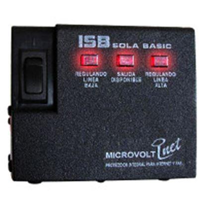Imagen de INDUSTRIA SOLA - REGULADOR ELEC MICROVOLT 1200VA 120V/4CONTACT PROTEC TELEF