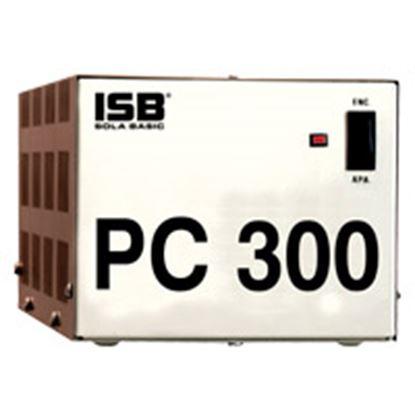 Imagen de INDUSTRIA SOLA - REGULADOR SOLA BASIC 300VA MONOFASICO 120V 4 CONTACTOS .