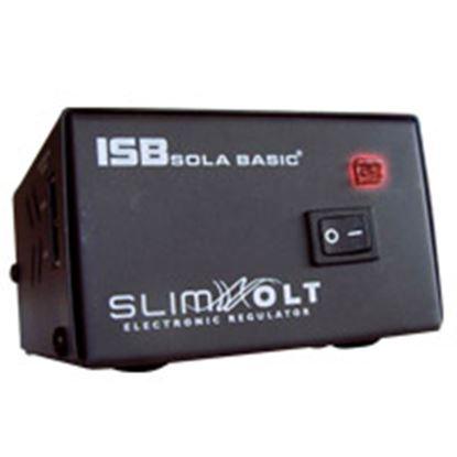 Imagen de INDUSTRIA SOLA - REGULADOR ELECTR¾NICO SLIM VOLT VOLT1300VA 102-140V DE ENT 4 C.NT