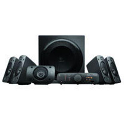 Imagen de LOGITECH - BOCINAS LOGITECH Z906 5.1 THX 500 WATTS RMS PC/MAC/MP3/IPOD/DVD