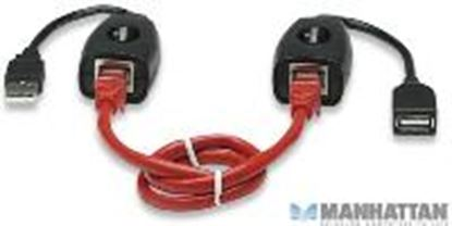 Imagen de MANHATTAN - CABLE USB EXTENSION ACTIVA 60M,VIA RJ45