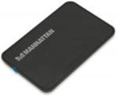 Imagen de MANHATTAN - GABINETE HDD 2.5 SATA, USB V2.0 NEGRO