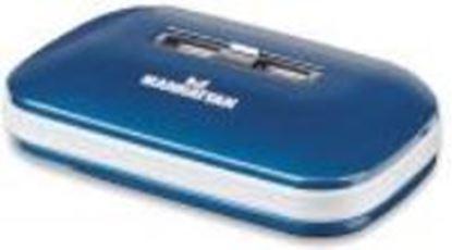 Imagen de MANHATTAN - HUB USB V2.0  7 PTOS AZUL CON FUENTE