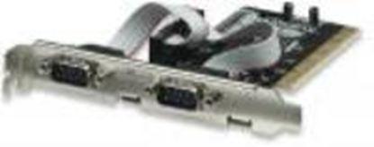 Imagen de MANHATTAN - TARJETA SERIAL PCI 2 PTOS  DB9*2