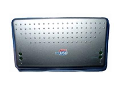 Imagen de PAQ. C/2 - DTC - GENÉRICO - LECTOR USB V2.0 PLATA LISO 42 EN 1