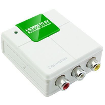 Imagen de DTC - GENÉRICO - CONVERTIDOR HDMI A AV (RCA)