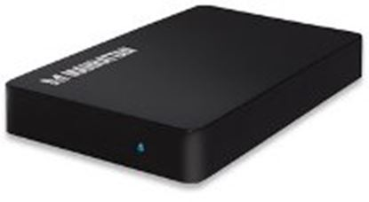 Imagen de MANHATTAN - GABINETE HDD 2.5 SATA, USB V3.0 NEGRO
