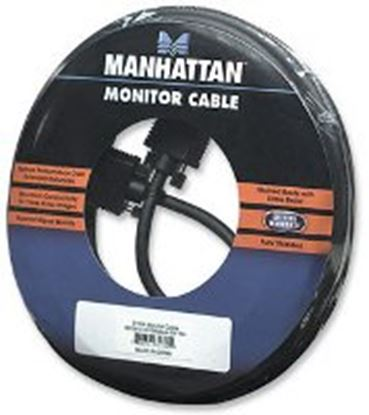 Imagen de MANHATTAN - CABLE MONITOR SVGA 8MM HD15M-M 15.0M