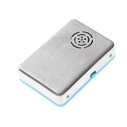 Imagen de DTC - B-ROBOTIX - LECTOR Y REPRODUCTOR MICRO SD PARA MP3 CON PANTALLA Y BOCINA AZUL