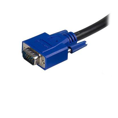 Imagen de STARTECH - CABLE KVM UNIVERSAL 2 EN 1 PS/2 HD-15 VGA DE 3M .