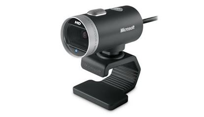Imagen de MICROSOFT - WEBCAM CINEMA MICROSOFT 720HD VIDEO USB PC SKYPE 360¦ BULK