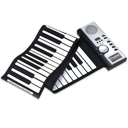Imagen de DTC - OEM - TECLADO MUSICAL FLEXIBLE MIDI 128 TONOS