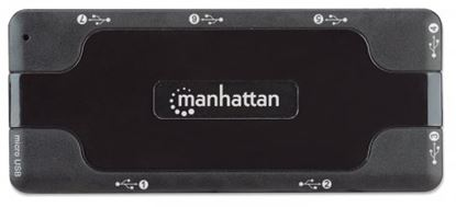 Imagen de MANHATTAN - HUB USB V2.0  7 PTOS SIN FUENTE