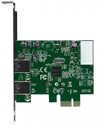 Imagen de MANHATTAN - TARJETA USB  PCI EXPRESS 2 PTOS