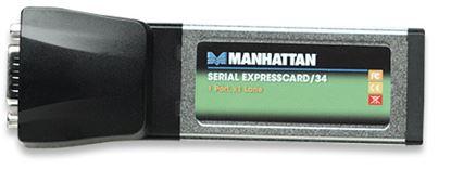 Imagen de MANHATTAN - TARJETA SERIAL EXPRESS/34 PORTATIL 1*DB9