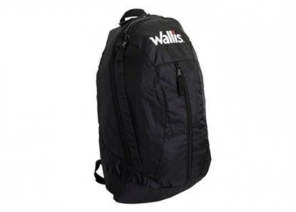 Imagen de WALLIS -  MOCHILA DE VIAJE PLEGABLE, 20 L, 100% NYLON, 28X47X15 CM, NEGRO