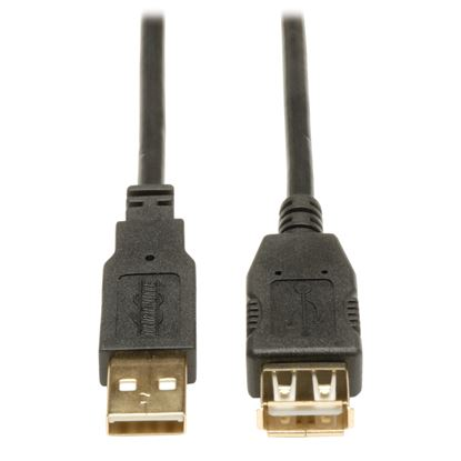 Imagen de PAQ. C/2 - TRIPLITE - CABLE DE EXTENSION USB 2.0 DE ALTA VELOCIDAD A M/H 4.88M .