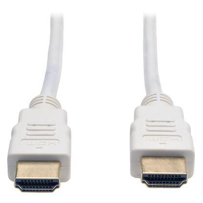 Imagen de PAQ. C/2 - TRIPLITE - CABLE HDMI DE ALTA VELOCIDAD HD 4KX2K C/AUDIO M/M BLANCO 1.83.